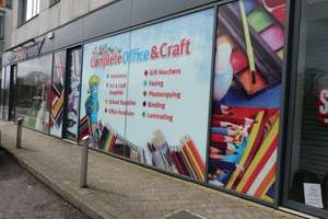 Complete Office and Craft Shop Front